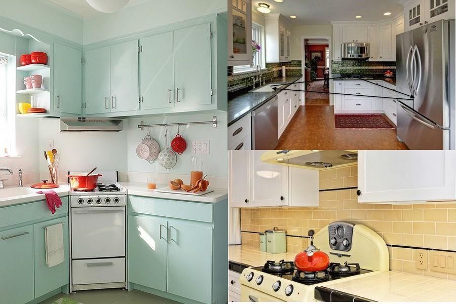 Основные зоны на кухне