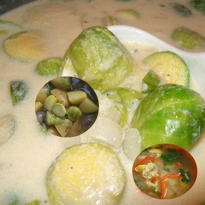 Супы из брюссельской капусты