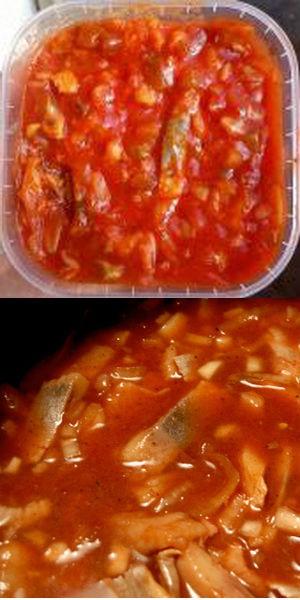 Итальянский салат с сельдью