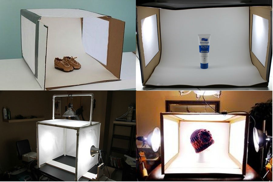 Лайтбокс для предметной фотосъемки в домашних условиях