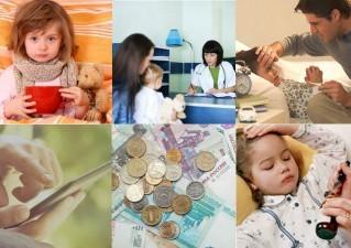 Оплата больничного по уходу за ребенком