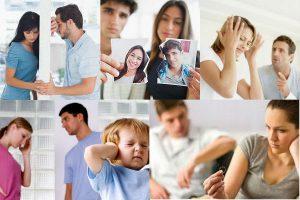 Кризисы в семейных отношениях (по годам)