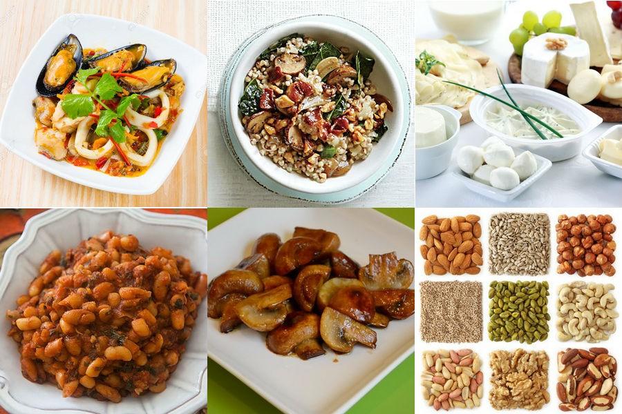 Продукты - источники белка