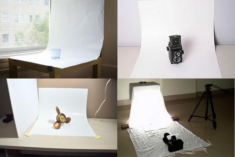 Стол для предметной фотосъемки в домашних условиях