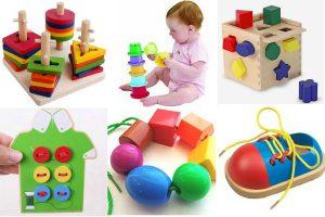 Игры для развития мелкой моторики для детей раннего возраста (1-3 года)