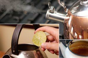 Как почистить чайник изнутри и снаружи