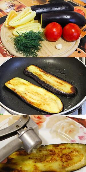 Как готовить рулеты из баклажанов