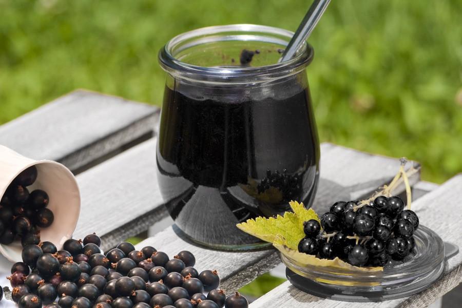 Черная смородина, перетертая с сахаром: рецепт