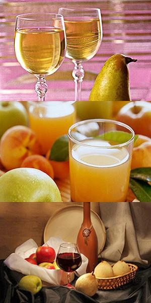 Десертное вино из яблок и груш