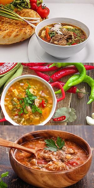 Домашний суп-харчо