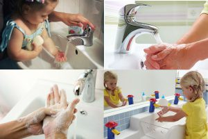 Как правильно мыть руки по евростандарту и в детском саду
