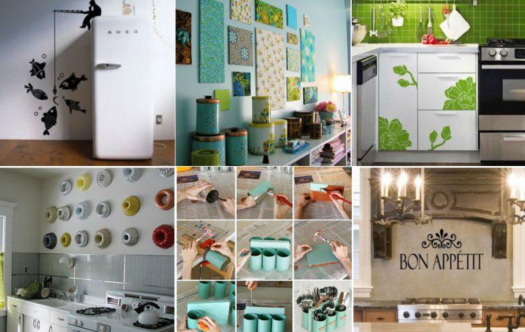 Поделки для кухни своими руками: идеи декора