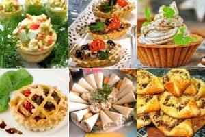 Тарталетки на праздничный стол: рецепты с фото