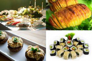 Постные блюда на праздничный стол