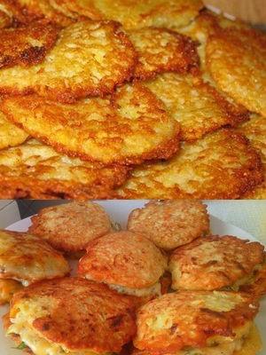 Как сделать драники из картофеля: рецепты с фото