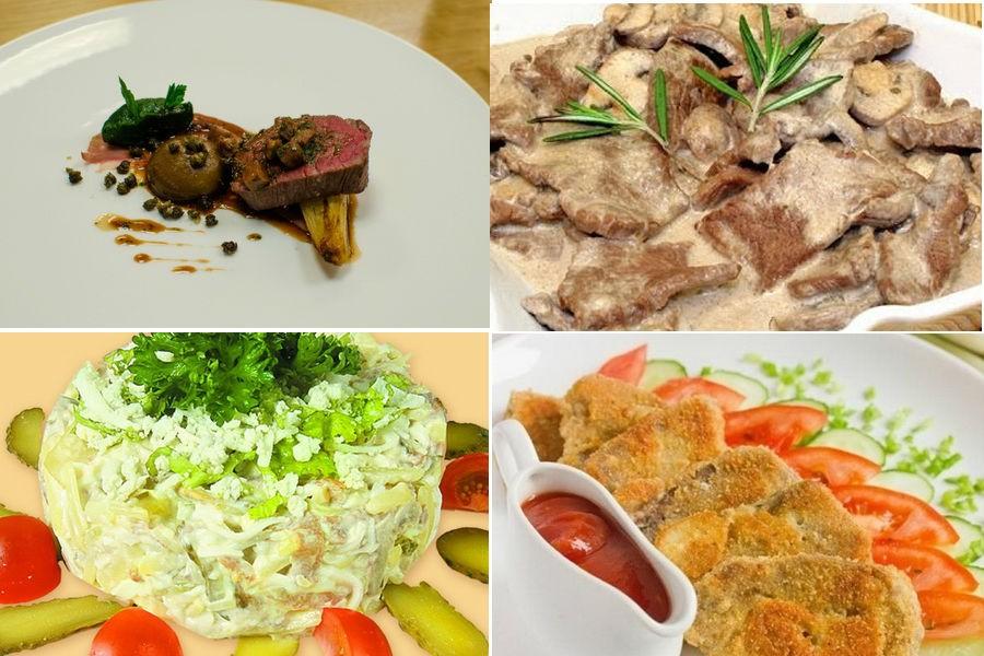 Что приготовить из говяжьего языка: рецепты на каждый день