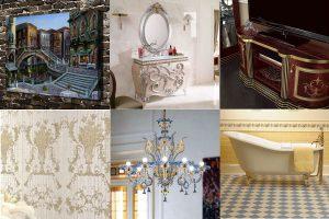 Венецианский стиль в современном интерьере: особенности, фото