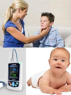 измерение пульса у ребенка