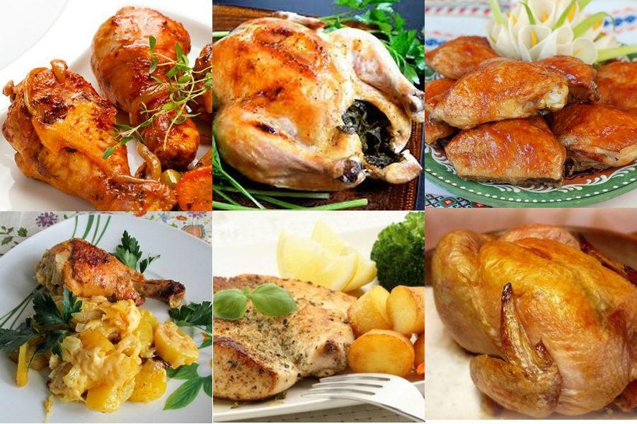 Курица, запеченная в мультиварке: рецепты с фото