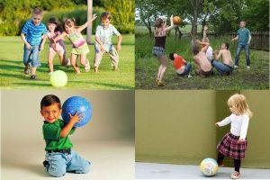 Read more about the article Подвижные игры с мячом для детей разного возраста