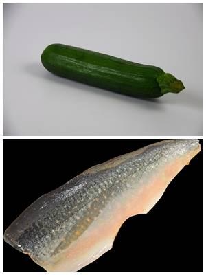 легкие рыбные котлеты с кабачком