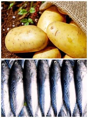 постные котлеты из рыбы с картошкой