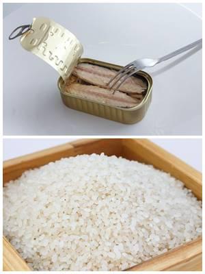 как сделать котлеты из консервов с рисом