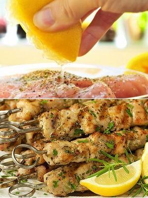 лимонный маринад для мяса