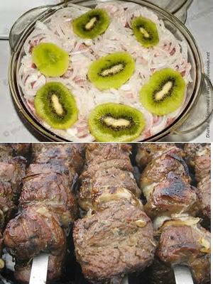маринад с киви для баранины
