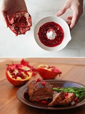 как мариновать мясо в гранатовом соке