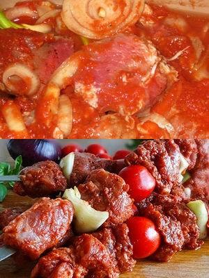 как мариновать мясо в томатном соке