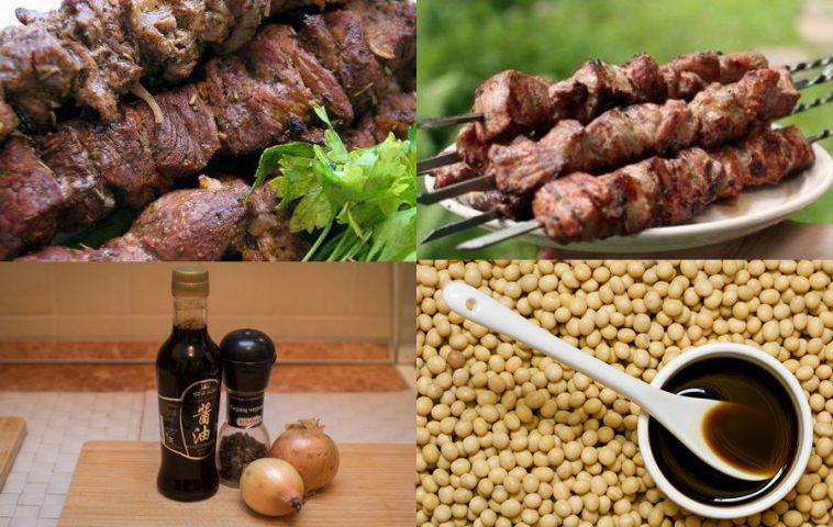 Маринад для шашлыка с соевым соусом: 5 рецептов