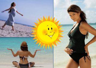 можно ли загорать во время беременности