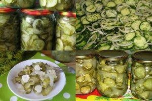 Как сделать салат «Нежинский» из огурцов на зиму: 9 рецептов