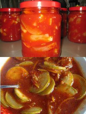 в томатном соусе