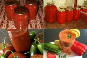 Томатный сок на зиму: 3 рецепта, включая классический, советы
