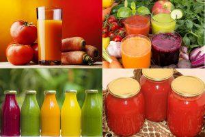 Овощной сок на зиму: 3 рецепта, советы