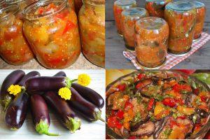 Read more about the article Салат «Десятка» из баклажанов на зиму: 4 рецепта приготовления