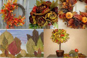 Read more about the article Осенние поделки из листьев для дома и детского сада: идеи, инструкции