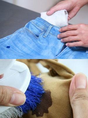 Как удалить краску с одежды
