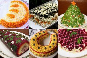 Традиционные и необычные рецепты салатов на Новый год: 12 вариантов