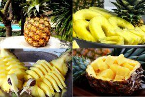 Как правильно есть ананас: чем полезен, как разрезать, рецепты