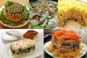 Read more about the article Салаты с грибами и курицей: 10 рецептов к празднику и на каждый день