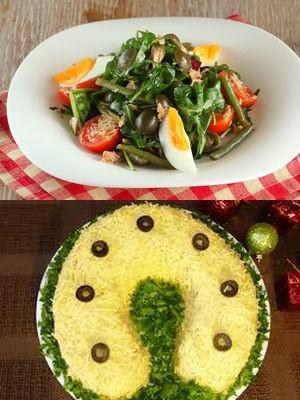 Диетические салаты на Новый год: 7 рецептов с указанием калорийности