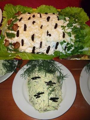 Салат «Березка» с курицей и черносливом: 7 рецептов