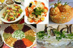 Салаты на скорую руку из простых продуктов: 10 интересных рецептов