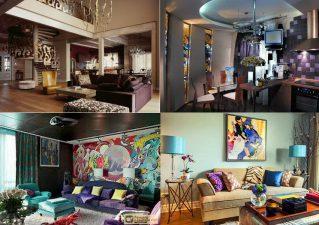 Гармония противоречий: стиль фьюжн в интерьере квартиры