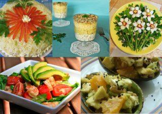 легкие салаты на день рождения - полезные рецепты
