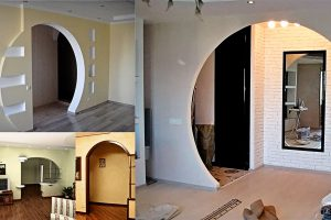 Как сделать межкомнатную арку в квартире своими руками: советы мастера