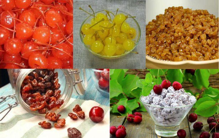 цукаты из черешни в домашних условиях - рецепты